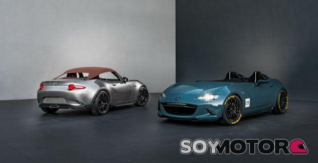 Estos MX-5 ultraligeros son la sorpresa de Mazda para el SEMA