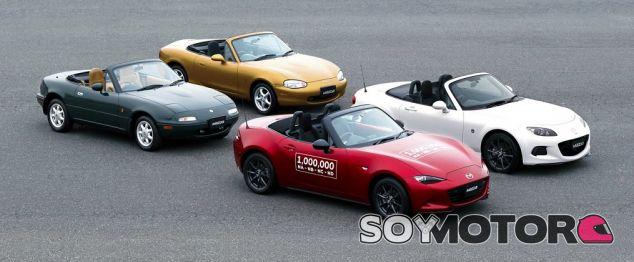 1 millon de mx5 en el mundo -SoyMotor