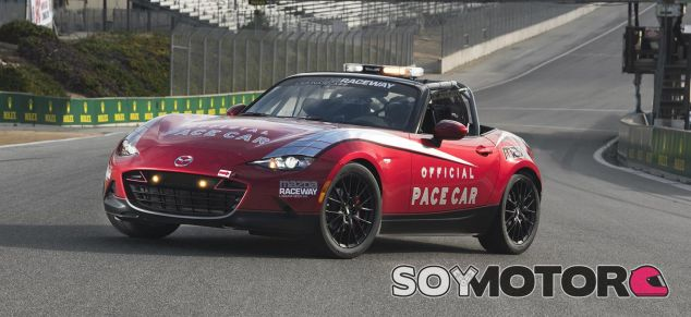 Mazda MX-5 Pace Car 2016 -SoyMotor