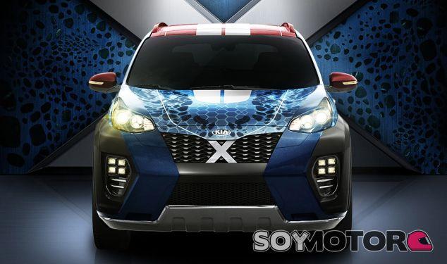 El Kia Sportage es el mejor vehículo para los mutantes de X-Men - SoyMotor