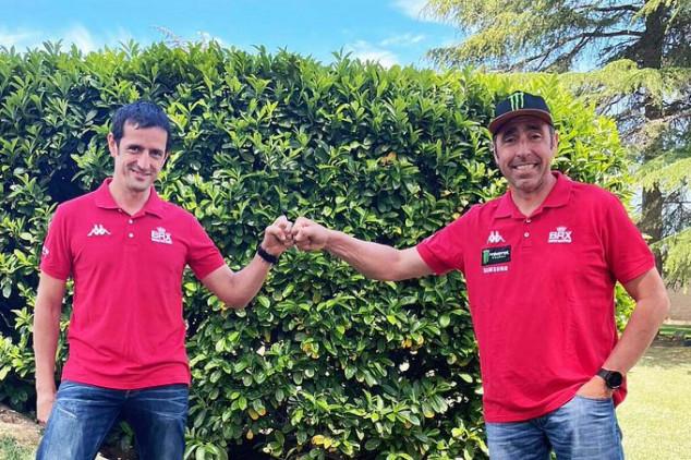 Dakar 2022: Nani Roma volverá a tener a Alex Haro de copiloto y BRX prepara un coche nuevo - SoyMotor.com