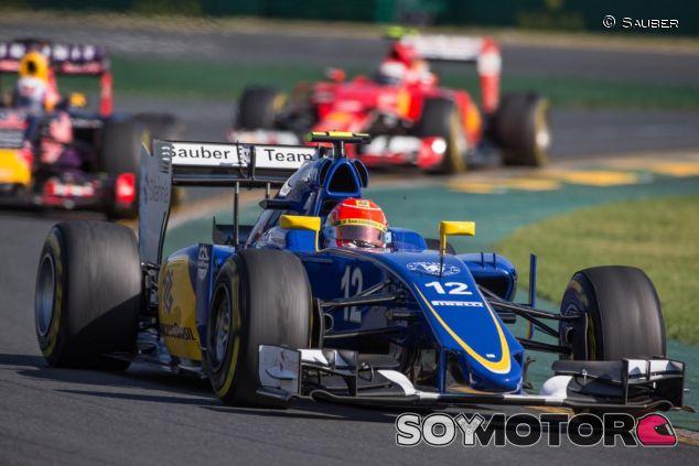 El buen rendimiento del motor Ferrari permitió a Nasr acabar quinto en Australia - LaF1