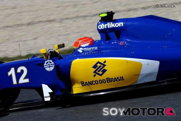 Felipe Nasr con el C34 - LaF1