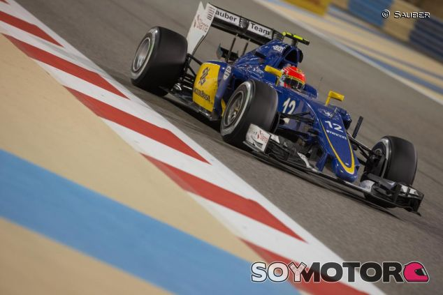 Felipe Nasr con el Sauber C34 en Baréin - LaF1