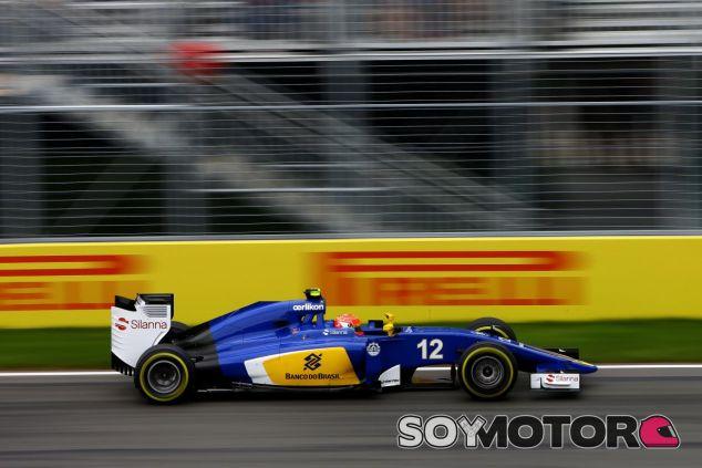 Felipe Nasr con el Sauber en Montreal - LaF1
