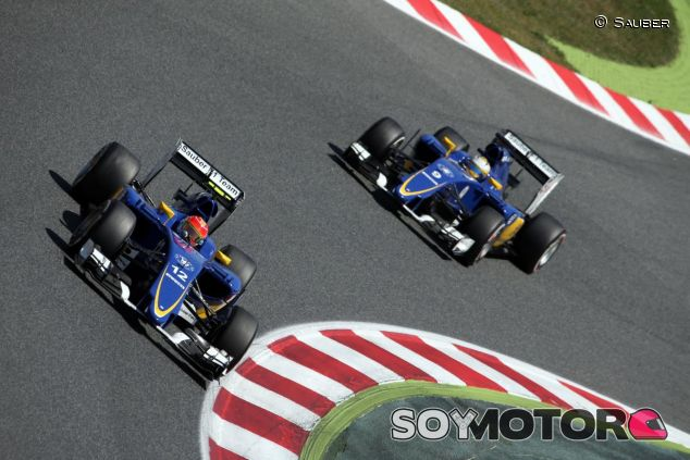Felipe Nasr y Marcus Ericsson - LaF1