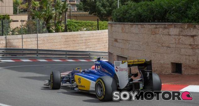 Felipe Nasr con el Sauber en Mónaco - LaF1