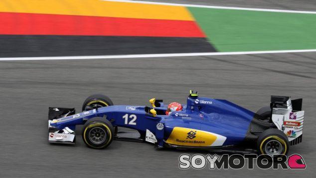 Felipe Nasr en Alemania - laF1