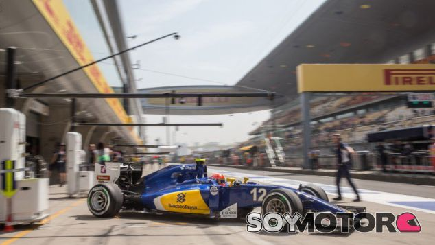 Felipe Nasr en China - LaF1