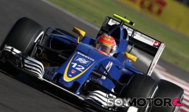 Nasr, durante un GP esta temporada - LaF1