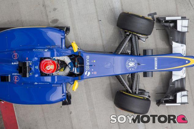 Felipe Nasr a los mandos del Sauber - LaF1