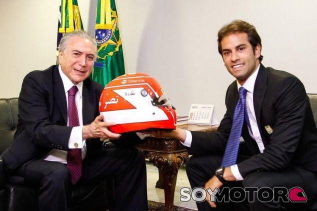 Michel Temer recibe a Felipe Nasr - LaF1