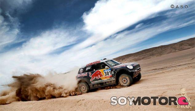 Nasser Al-Attiyah, al borde de la victoria final en el Dakar - LaF1
