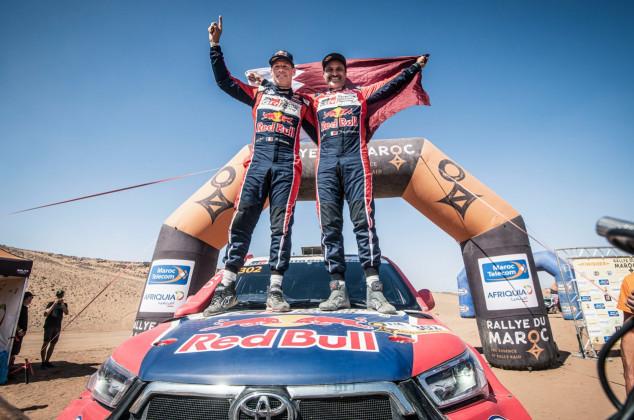 Al-Attiyah, dueño y señor del Rally de Marruecos 2021 - SoyMotor.com