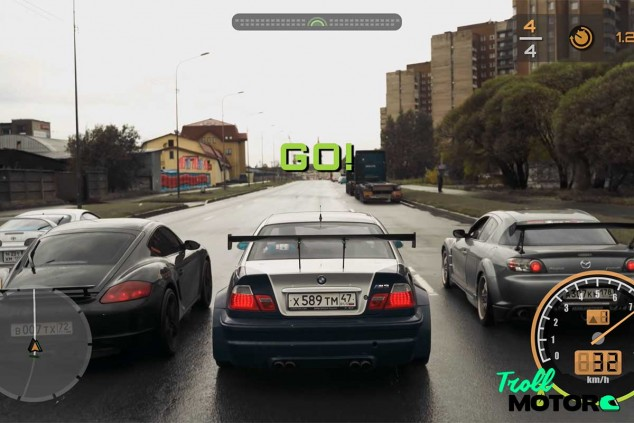 Un ruso recrea el videojuego Need For Speed en la vida real - SoyMotor.com