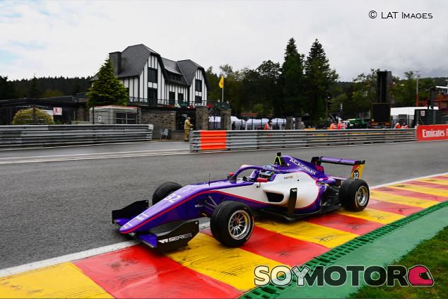 Nerea Martí, séptima en el primer contacto de las W Series con Spa - SoyMotor.com