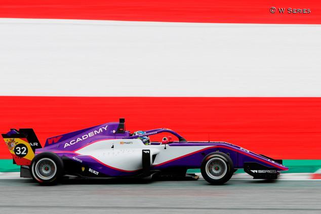 Nerea Martí saldrá cuarta en la segunda carrera de Austria - SoyMotor.com