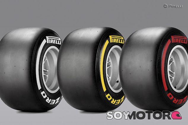 Compuestos medio, blando y superblando de Pirelli - LaF1