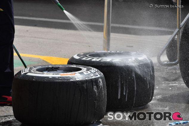 Neumáticos medios de Pirelli en los test de Barcelona – SoyMotor.com