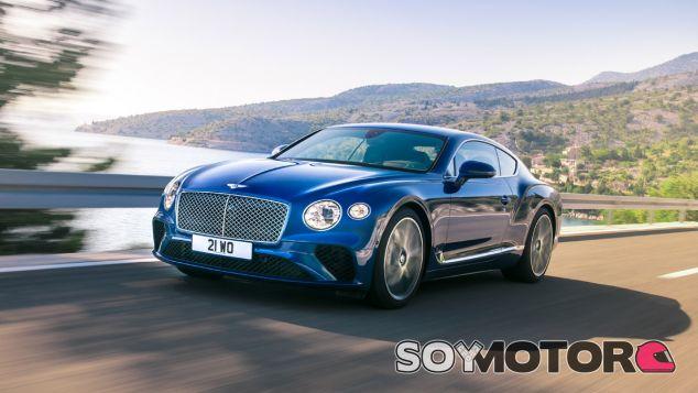 La tercera generación del Bentley Continental GT ha sido presentado en sociedad - SoyMotor