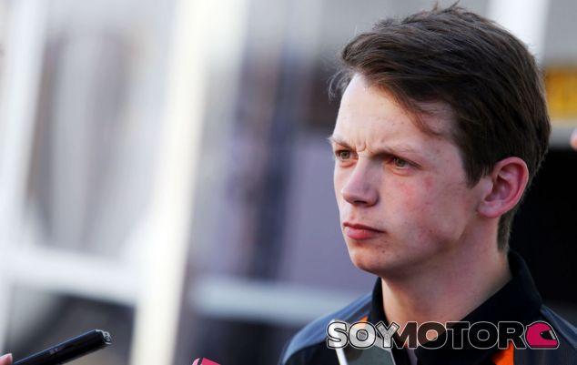 Nick Yelloly, hoy en Montmeló - LaF1