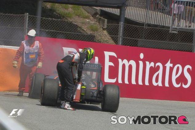 Force India puntúa con Pérez y abandona con Hülkenberg - LaF1