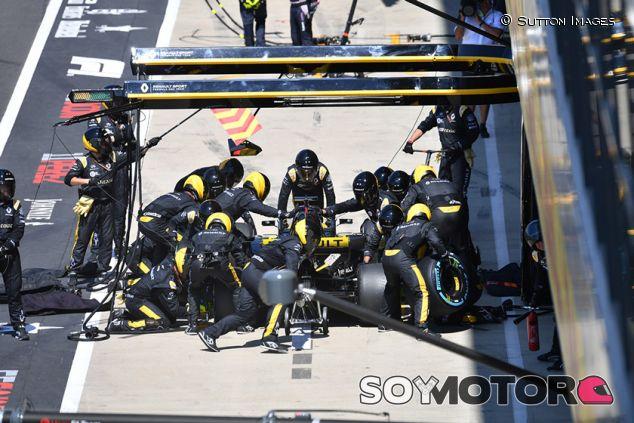 Parada de Nico Hülkenberg en Silverstone - SoyMotor.com