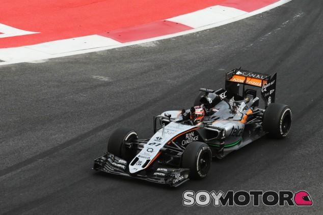 Hülkenberg puso fin a una mala racha en México - LaF1