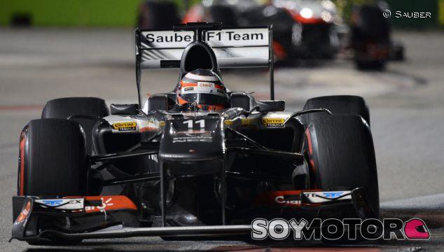Hülkenberg medita quedarse en Sauber en 2014