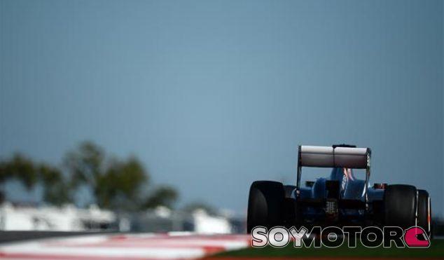 Sauber en el GP de Estados Unidos F1 2013: Viernes
