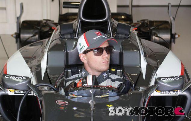 Nico Hülkenberg en el Sauber C30 - LaF1