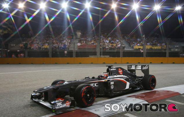 Nico Hülkenberg en el GP de Singapur F1 2013 - LaF1