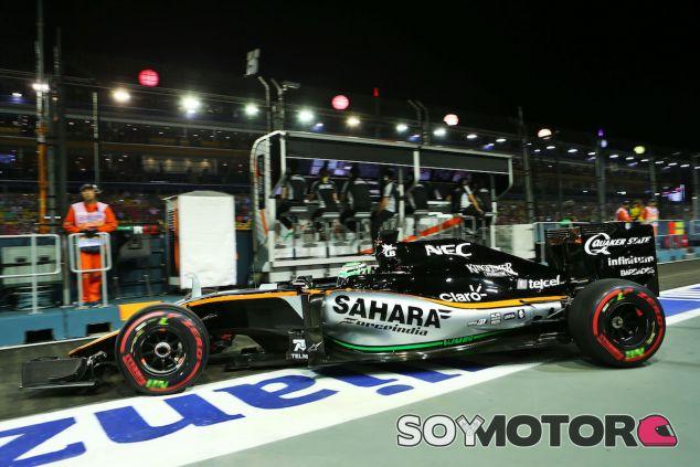 Nico Hülkenberg en Singapur- LaF1