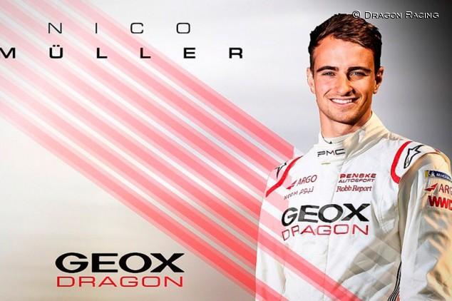 Nico Müller ficha por Geox Dragon para la temporada 2019-2020 - SoyMotor.com