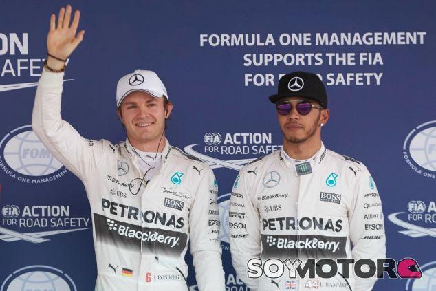 Nico Rosberg quiere batir a Lewis Hamilton en 2016 - LaF1