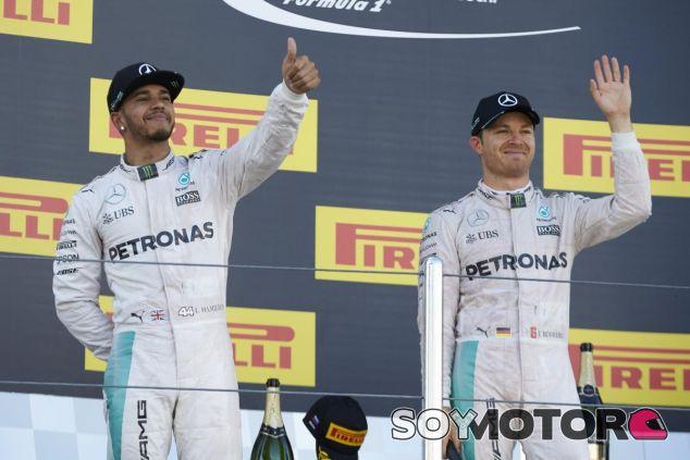 Rosberg también saca hierro al accidente de Mercedes en España - LaF1
