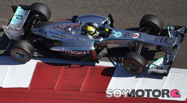 Nico Rosberg en el GP de Estados Unidos F1 2013 - LaF1