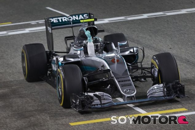Nico Rosberg está en un momento muy dulce en su trayectoria en la Fórmula 1 - LaF1
