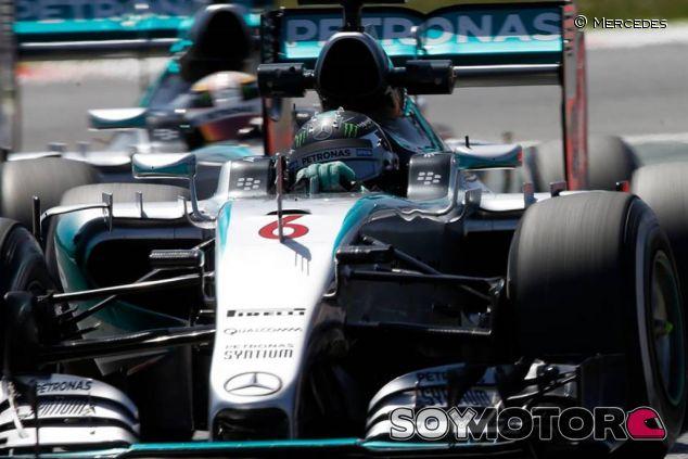 Nico Rosberg en Barcelona - LaF1.es