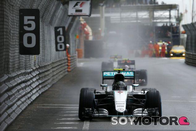 Rosberg finalizó 7º en Mónaco - LaF1
