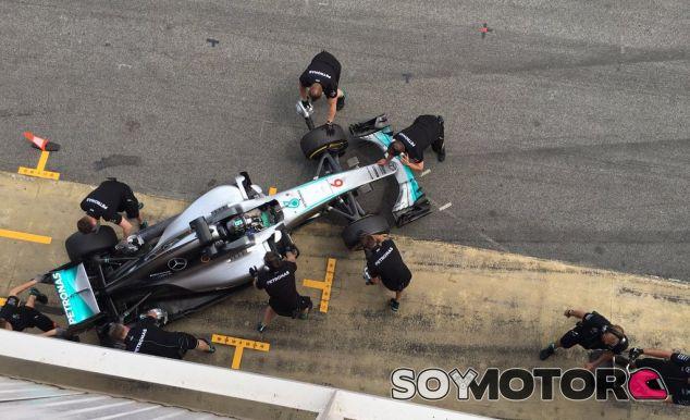 Rosberg está satisfecho con la jornada de hoy - LaF1