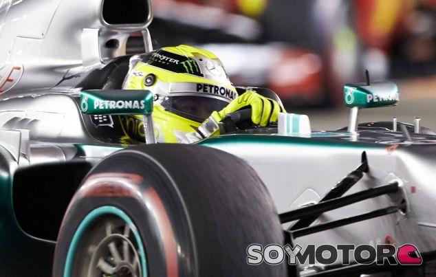Nico Rosberg no acertó con la estrategia de paradas en Singapur - LaF1