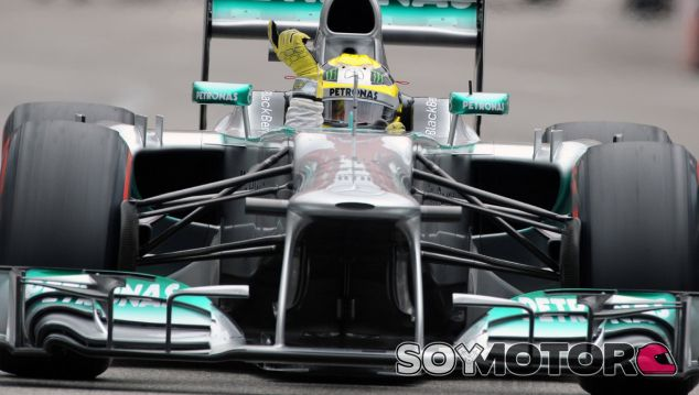 Nico Rosberg celebra su victoria en el GP de Mónaco F1 2013