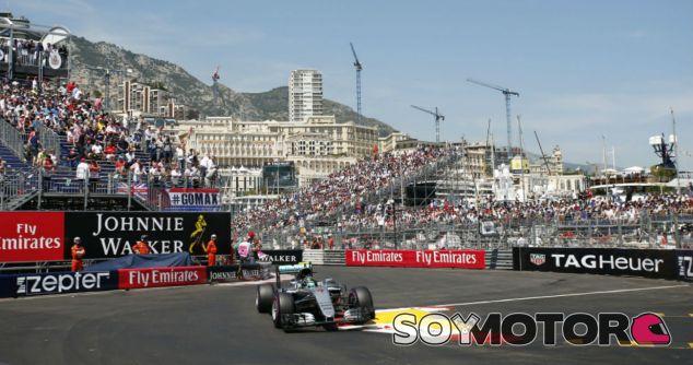 Rosberg durante el GP de Mónaco 2016 - SoyMotor