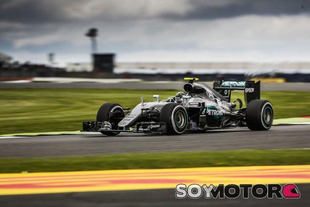 Nico Rosberg, segundo en Silverstone - LaF1