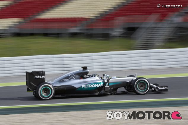 Rosberg en los test post GP de España - LaF1