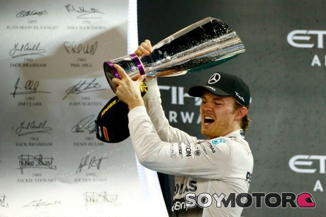 Rosberg ha despedido la temporada con tres victorias consecutivas - LaF1