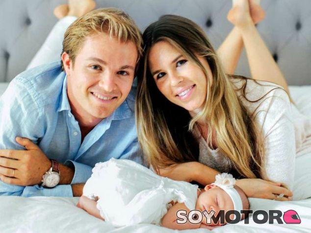 Rosberg dona el dinero que recibió por los derechos de imagen de su hija - LaF1