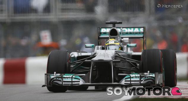 Nico Rosberg en el Gran Premio de Canadá 2013