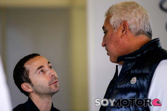 Nicolas Todt, hijo de Jean Todt y Lawrence Stroll, padre de Lance en Barcelona - SoyMotor.com